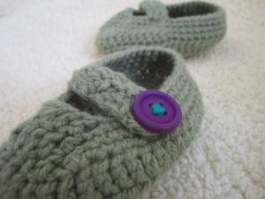 נעלי תינוק סרוגות