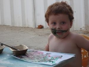 ציור עם ילדים