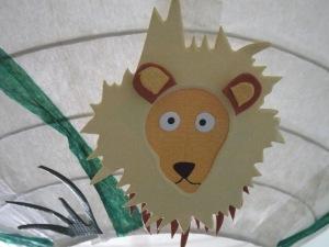 גן חיות בחדר ילדים