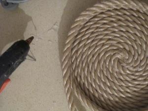 יצירת סל חבלים