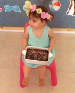 יערוני בת שנתיים