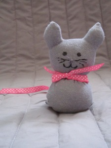 sock dall - cat