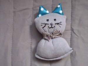 בובת גרב - חתול