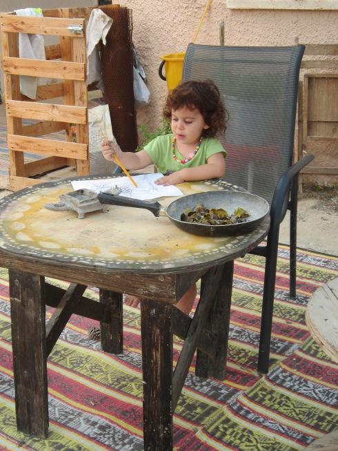 חידוש שולחן עץ